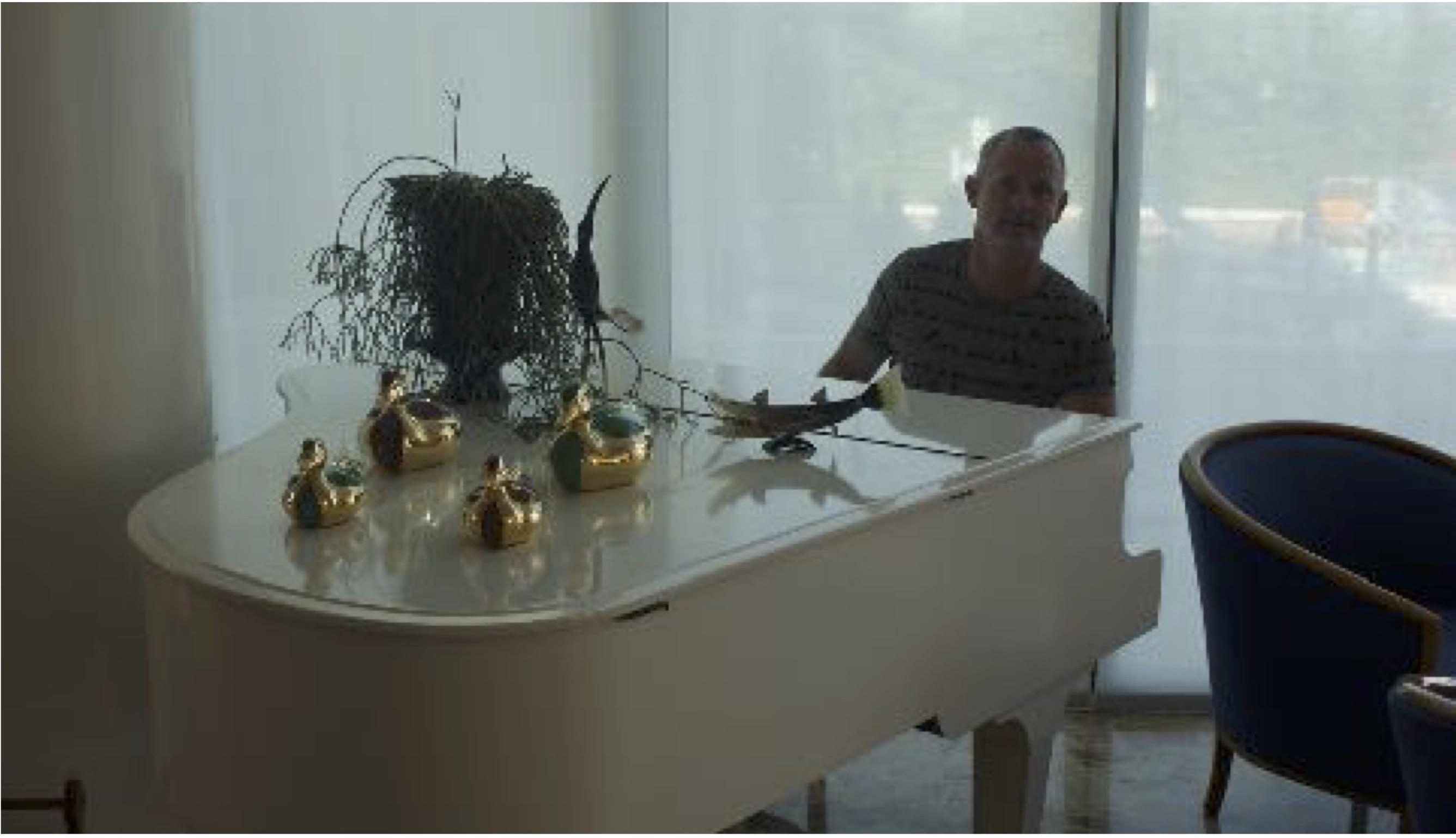 Me at piano